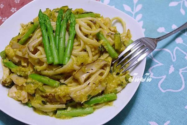 南瓜義大利麵