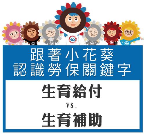 [認識關鍵字] 生育給付vs.生育補助1109.jpg