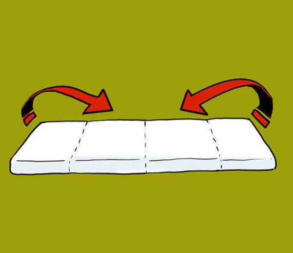 棉被折法002