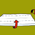 棉被折法001
