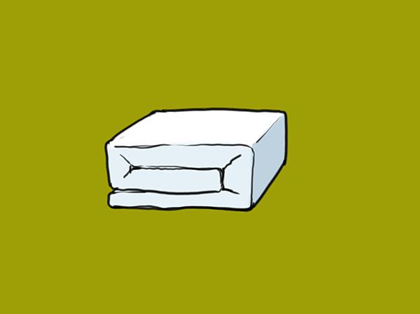棉被折法03