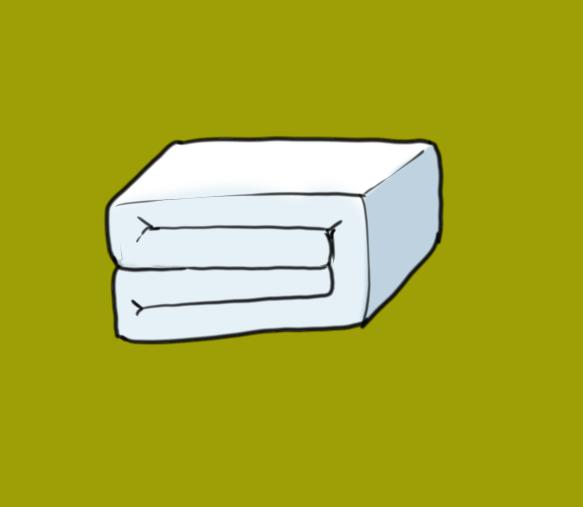 棉被折法003