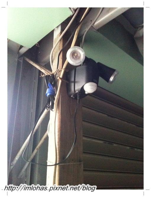 太陽能LED感應燈01