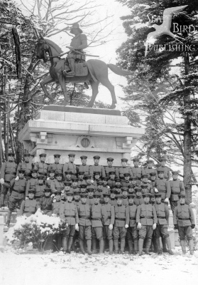 Statue_of_Date_Masamune,_Aoba_Castle,_in_1940