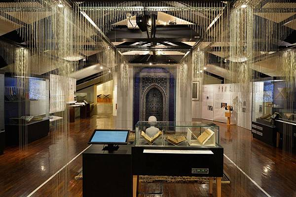 (圖1)伊斯蘭展-神聖空間展區