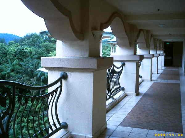 飯店的迴廊
