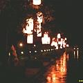 雨夜花燈籠