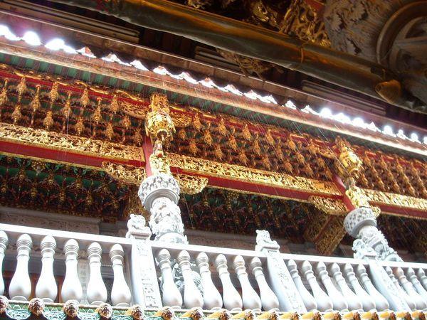 雨中的祖師廟