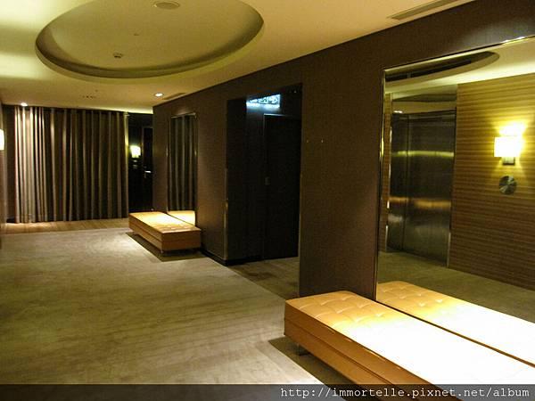 台中亞緻-客房梯廳