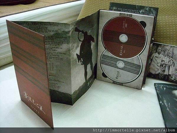 賽德克巴萊-電影原聲帶 CD盒與歌詞折頁.jpg