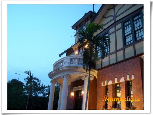 暮色中的台北故事館