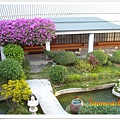 清泉溫泉山莊的日式庭園