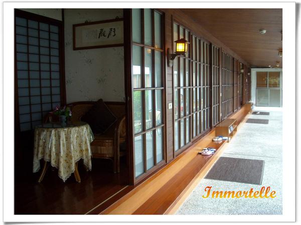 清泉.日式套房,外面有迴廊