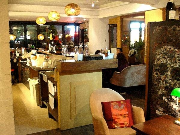 cafe bastille店景