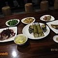 知本秘境-晚餐,五菜+主食+湯