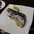 秘境晚餐-烤鯖魚