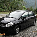 本次用車-黑色tiida1.6