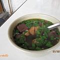 料多味美的豬血湯,30元