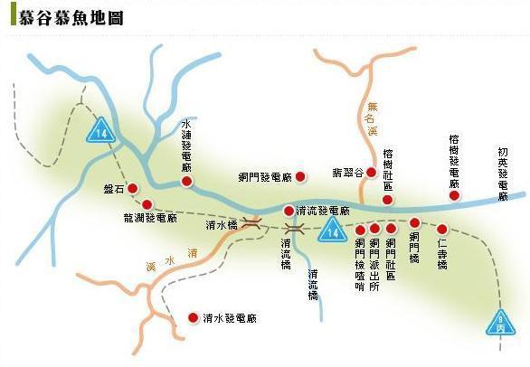 慕谷慕魚地圖