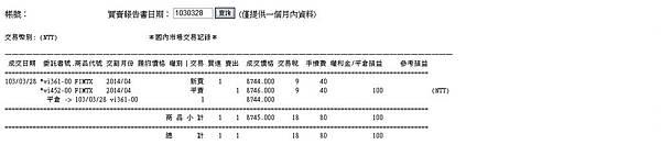 2014.3.28期貨買賣報告書