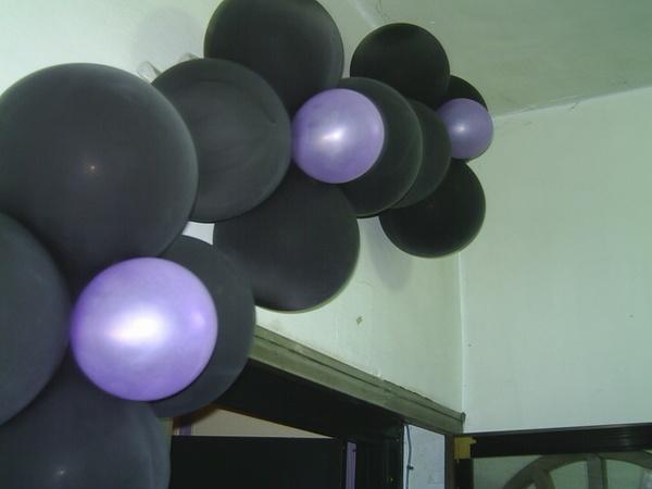 5/19生日當天家居氣球佈置