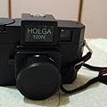 Holga120N黑色+轉135背板