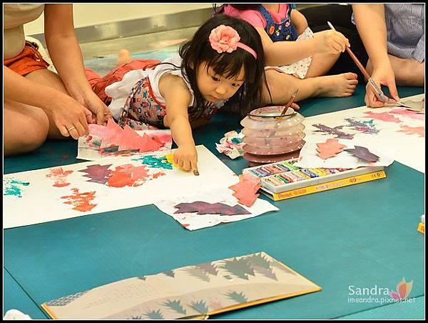 201206-花栗鼠繪本館,糖果老師畫畫課 (23)