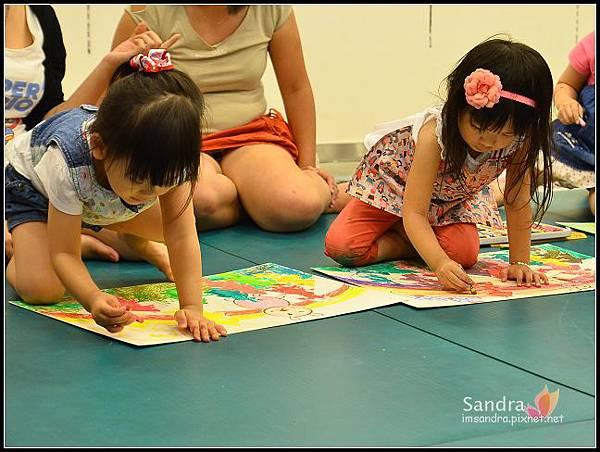201206-花栗鼠繪本館,糖果老師畫畫課 (43)