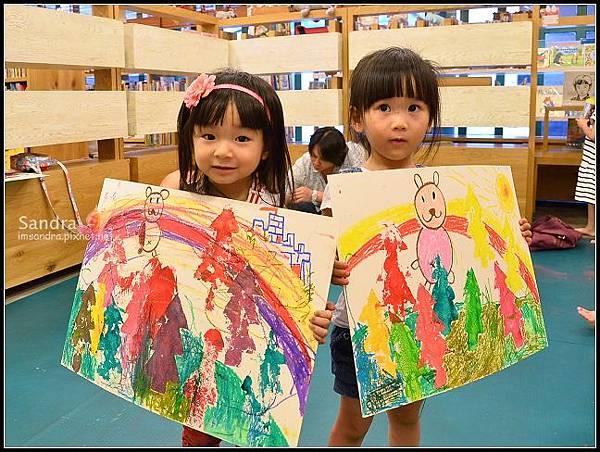 201206-花栗鼠繪本館,糖果老師畫畫課 (46)