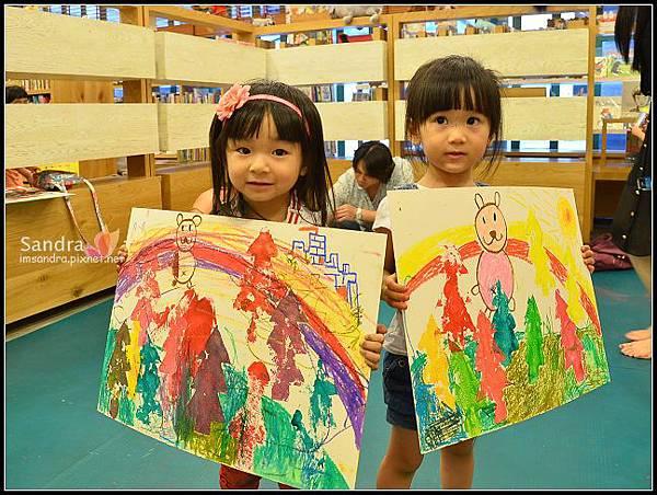 201206-花栗鼠繪本館,糖果老師畫畫課 (47)