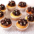 2. cupcakes yogur y chocolate 70%