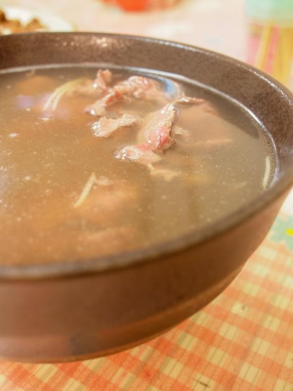 阿輝 牛肉湯