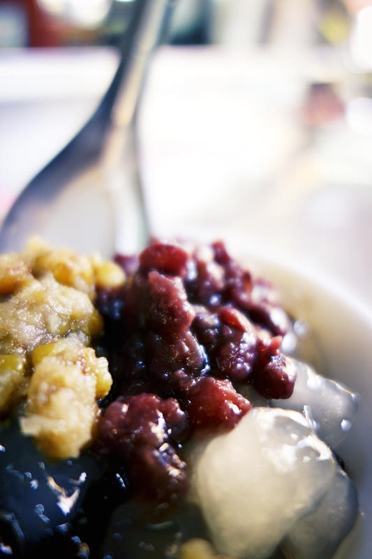 台南 東菜市 蜜紅豆冰