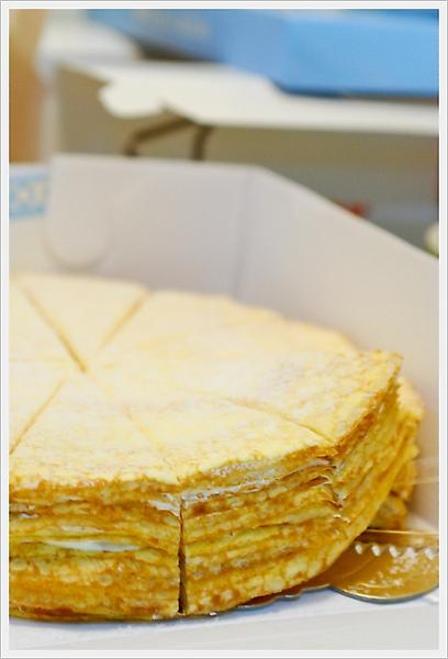 深藍千層蛋糕