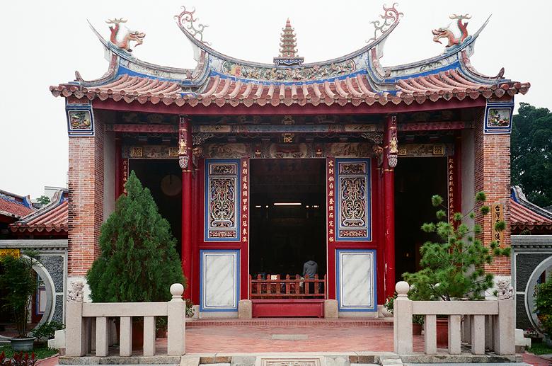 在公園內的文昌帝君廟