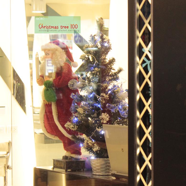 新莊某理髮廳聖誕樹