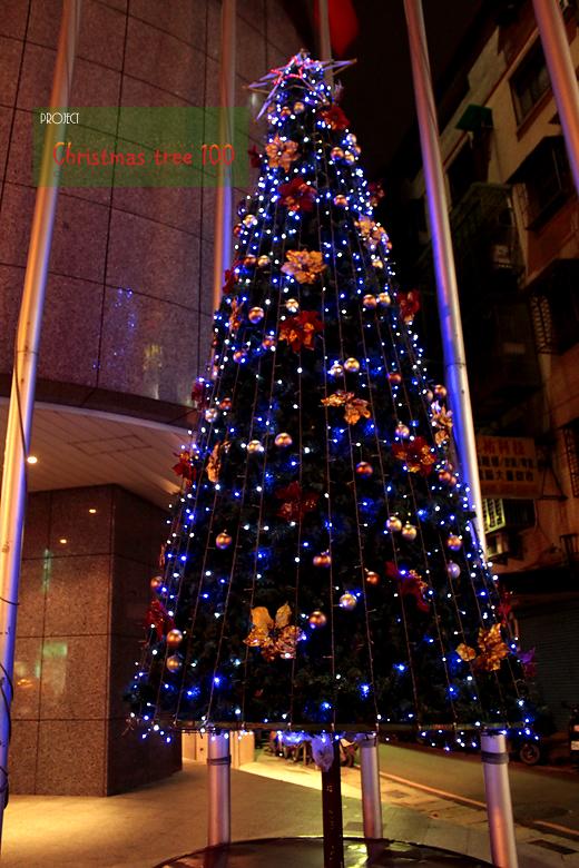新莊客旅外聖誕樹