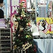 10.眼鏡行的聖誕樹,好糊