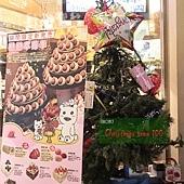 28.幾分甜的聖誕樹,裝飾得很---隨意