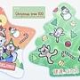 36.出奇蛋,除了大叢的聖誕樹,還有小的在畫板上啊!