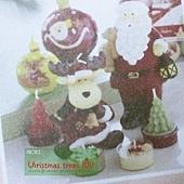 40.蠟燭也很可愛啊,除了聖誕樹蠟燭,連雪花都有耶!HOLA dm