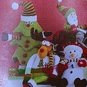 46.有眼睛的聖誕樹!布製,很特別~HOLA dm