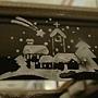 83.除了聖誕樹,還有流星跟教堂,整個也太也聖誕節氣氛了啊!