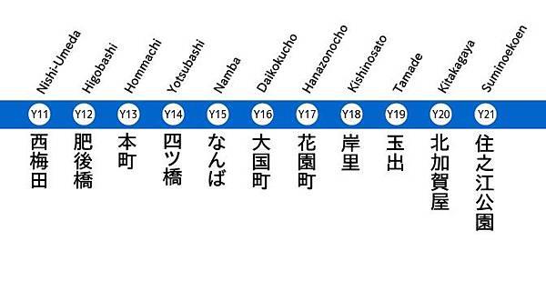 四つ橋線_Subway_Yotsubashi_Line