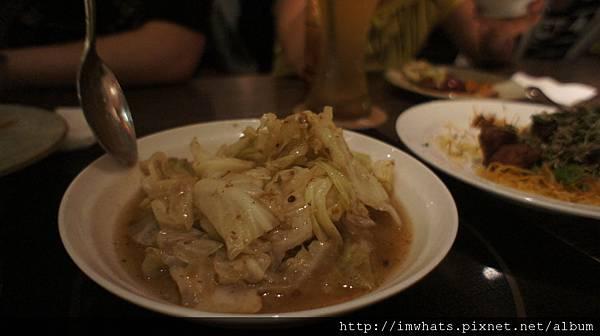 水舞饌蝦醬高麗菜.JPG