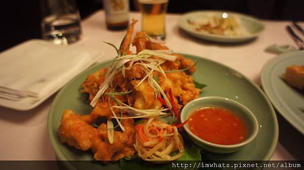 sukhothai酥炸軟殼蟹