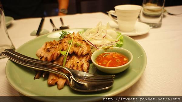 sukhothai碳烤豬頸肉