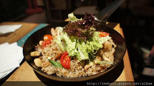 wood&potXO醬蒜蝦堅果米食