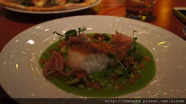 bencotto每日鮮魚搭配海膽火腿醬.JPG