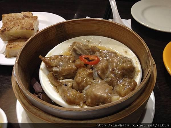 金鐘香港茶餐廳豆豉蒸排骨.JPG